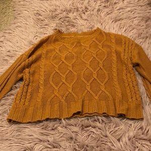 Sweaters - Mustard Yellow sweater